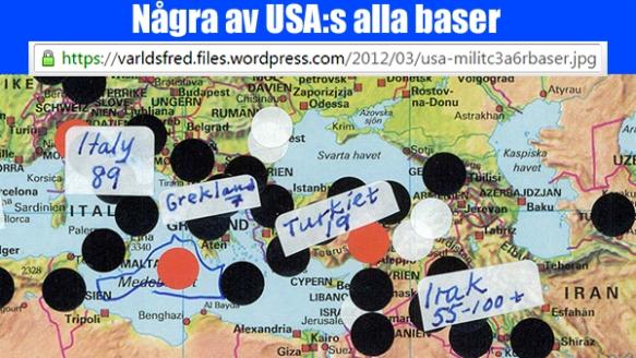 USA-base kringi östar Medelhavet